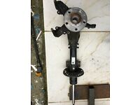 VW POLO 2014 DRIVER SIDE FRONT SHOCK OBSERBOR - KNUCKLE - HUB AND BEARING