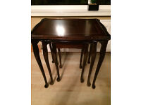 French Style CHATEAU Nest Of Three Occasional Tables