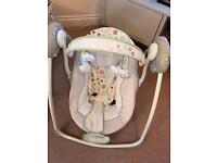 Baby Rocker Bouncer playing melody