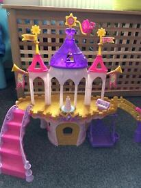 My little pony palace and ponies