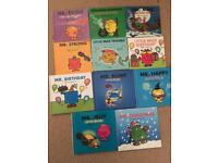 Mr men sparkle books collection