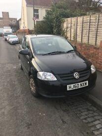 VW Fox 1.2 petrol 3dr in BLACK