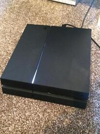 PlayStation 4 Console and GTA 5 game