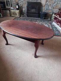Oval coffee table £10