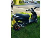 Hanway pulse ghost 50cc 2stroke 2016 ride away