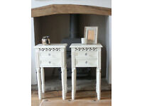 White Belgravia Bedside Tables