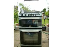 CANNON GAS COOKER WITH HOBB, GLASS TOP
