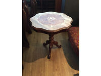 Inlaid Occasional Side Table