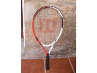 Wilson Federer Power Strings Tennis Racket