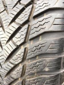 2 x 205/60/16 goodyear hiver 8/32