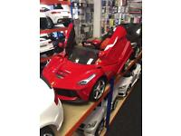 12v Kids-Ride-On Cars,Parental Remote & Self Drive, New With Warranty,Free Numberplate