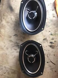 Vibe 6x9 speakers and sub with built in amp