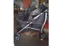 2 double prams