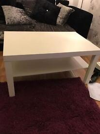 White coffee table, perfect condition, £20