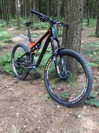Specialized stumpjumper FSR Carbon expert evo 2013 enduro/all mountain bike!