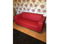 Retro Red Sofa