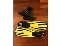 Fins mares avantiquattro + and boots