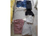 Bundle of size 10 maternity clothes