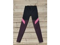 x5 sports leggings incl. x4 Nike, x1 H&M, x1 Karrimor fit UK 8 good condition