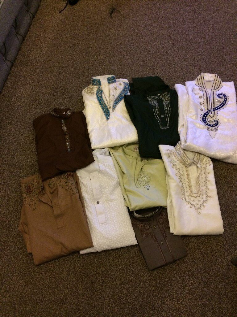 New Asian traditional Boys clothes Age 9- 13 years £10 each ovno