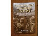 German military letter codes 1939-1945