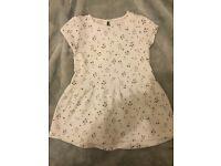 Baby girls floral Zara dress 12-18 months