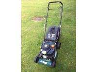 """qgarden t375 lawn mower lawnmower 16"""" inch cut combi 2 in 1 gpm42"""