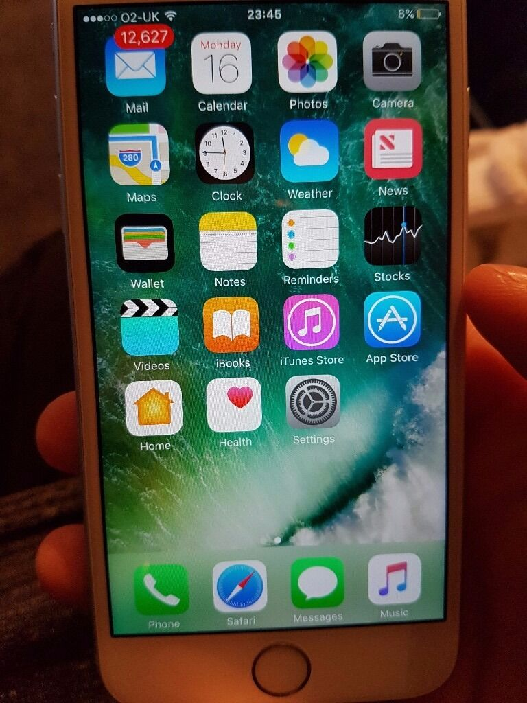 Iphone 6s silver 16gbin Romford, LondonGumtree - Iphone 6s silver 16 gb On o2 Like new Have no longer got the box but have usb charging cable