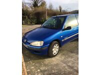 PEUGEOT 106... ONLY 24000 miles on clock!!!!!