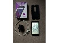 Motorola Moto G 3rd generation 8GB(unlocked) + 8GB sd card, silicone case, box and charger