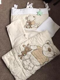 Nursery blanket set and more