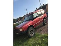 Land Rover discovery off road ready