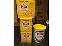 SMA hungry baby formula and Pro infant formula. BRAND NEW