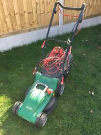 Qualcast lawnmower electric