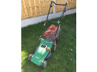 Qualcast lawnmower electric