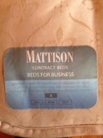 Mattison single mattress - hotel diplomat