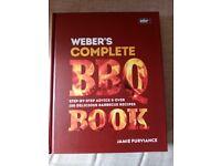 Webers BBQ recipe book