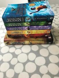 6 Percy Jackson Books