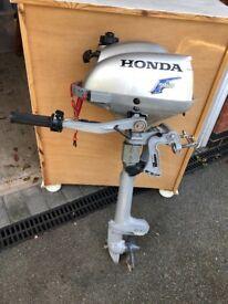 2.3 Honda out board motor