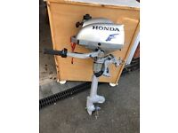 2.3 Honda out board motor