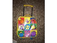 Tweenies kids mini suitcase luggage storage box