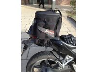 Motorcycle luggage tail bag