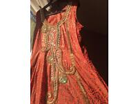 Indian anarkaki dress avaliable in two colours