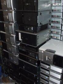 JOB LOT OF x25 - PC COMPUTERS UNITS