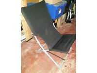 Black sun loungers / chairs for sale