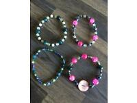 Handmade beaded expandable bracelets, adult size. £2 each. Can post or collect from Tqy