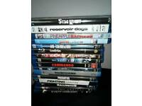 Various blu rays, American and German import region free
