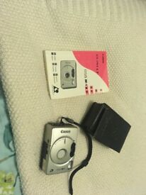Cannon silver IXUS M-1 camera