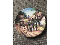 Wedgwood 'buying the bread' country days plate