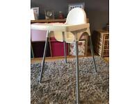 Ikea highchair chair